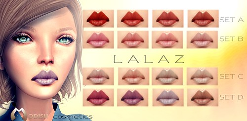 Lalaz lips_ Lipsticks Add-ons @ Mainstore