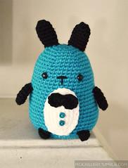 Classy bunny [reboot] (mochillery) Tags: bunny crafts crochet plushie amigurumi classy