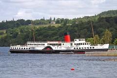 Maid of the Loch (markyharky) Tags: scotland balloch lochlomond paddlesteamer maidoftheloch cameronhousehotel