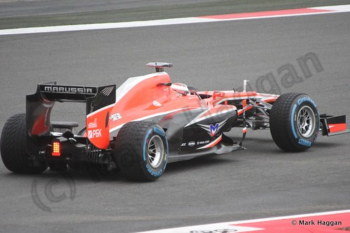Jules Bianchi in Free Practice 2 at the 2013 British Grand Prix