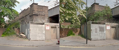 spurstowe road 2003-2013 (chrisdb1) Tags: street bridge summer london art abandoned public station architecture train mediumformat artist cityscape estate time homeless archive dump railway rangefinder social cctv demolition junction line cutting council housing fujifilm blocks hackney olympic 6x7 cleaner embankment clapton dalston torched towerblock desolation beforeafter e8 eastend e5 dystopia pembury refurbished plaubel londonist homerton blowdown councilhousing industrialwasteland fuji160nps carbreakers healthsafety lockups pilotti archshot chrisdorleybrown repairsandalterations