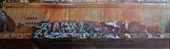 ALAMO x RIVER (stateofoppression) Tags: minnesota train river bench graffiti tag mpls alb piece alamo mn hopper railfan freight tci cdc rollingstock grainer benching shpx minnesotagraffiti mngraffiti