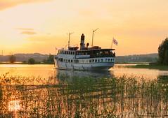A boat at Jyväsjärvi (Marjaana Pato) Tags: cruise summer lake finland boat jyväskylä kesä risteily päijänne laiva jyväsjärvi centralfinland