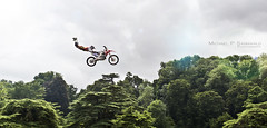 I believe I can fly (Michael P Sannwald | Photographer) Tags: bike flying high jump superman motorbike dirtbike fmx bolddog