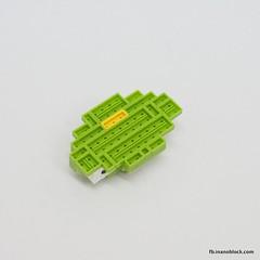 Toy Story Alien (inanoblock) Tags: movie toy lego toystory bricks alien disney pixar instructions blocks build nanoblock ナノブロック nanoblocks