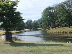 Lake (oldfirehazard) Tags: summer england lake hall norfolk august holkham 2013