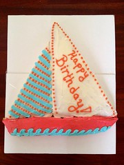 Sailboat Cake, Charleston, SC, www.birthdaycakes4free.com