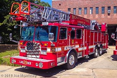 New KME Ladder Trucks (Joe Morrissey Photos) Tags: boston truck ma fire downtown south engine ladder mass kme mattapan