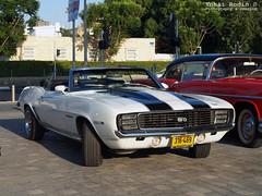 1969 Chevrolet Camaro SS RS Convertible (Yohai_Rodin) Tags: classic cars car club israel 5 five tel aviv אביב תל מכונית מועדון מכוניות היכל נוקיה קלאסית קלאסיות החמש