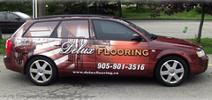 Vehicle Graphics | Signarama Meadowvale, ON | Delux Flooring