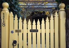 Adelaide - Norwood suburb, gate (Sallyrango) Tags: street gate entrance australia adelaide suburb norwood southaustralia suburbanhouse australiansuburb