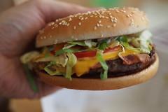 New York Supreme (petrusko.rm) Tags: food cheese dinner pen four prime bacon olympus mcdonalds hamburger micro mcd 45mm thirds ep3 m43 mft