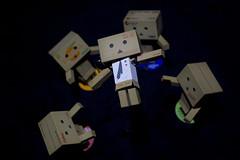 Hip Hip Hooray! (katsuboy) Tags: japan beams yotsuba danbo revoltech danboard danbobeams minidanbobeams