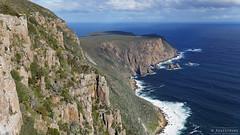 20130908-74-View toward tip of Cape Raoul.jpg (Roger T Wong) Tags: outdoors nationalpark walk australia hike cliffs tasmania np bushwalk tramp seastacks tasmanpeninsula caperaoul dolerite canonef24105mmf4lisusm canon24105 tasmannationalpark canoneos6d stormlea