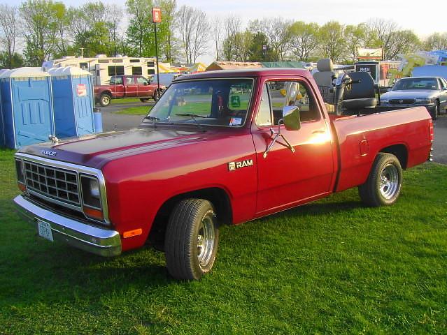 truck pickup dodge 1983 mopar ram carlisle carshow carlislepa d150 springcarlisle