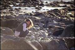 Bring Back an Oldie - 22 Sept 2013 - Minolta 5000 - Lisa at Sand Point (Gareth Wonfor (TempusVolat)) Tags: beach pebbles rocks rock pebble sandpoint weston super mare 35mm film negative vintage camera scan scanner scanned epson perfection v200 epsonperfection scanning minolta minolta5000 gareth tempus volat tempusvolat mrmorodo wife beauty beautiful girl woman brunette beautifulwife beautifulwoman prettywife attractive pretty lovelywife mywife mygirl gorgeouswife lovelylisa prettylisa goodlooking goodlooks spouse lover lovely love allure elegant 5000 sigma zoom 75300mm 4556 filmcamera demure scans photoscanner sand seaside sea strand shapely geotagged lisa garethwonfor farge lisafarge lisawonfor