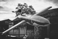 Eden Camp (Matthew-King) Tags: world 2 camp two white black history monochrome museum modern bug war yorkshire north tourist doodle theme rocket eden pow bomb malton attraction prisoner