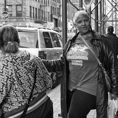 (Natalie_2105) Tags: world street camera city nyc portrait bw white newyork black eye souls 35mm square lens photography 50mm flickr moments fotografie faces candid scene best explore squareformat stadt format natalie webb brooklynusa strassenfotografie flickrriver schleutermann scrout