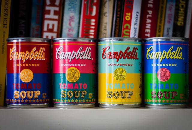 Warhol Soup 1