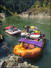 Rogue River Rafting (Greg Vaughn) Tags: travel vacation people usa holiday man west men nature oregon america landscape outdoors scenic rafting inflatable american western pacificnorthwest males recreation activity northwestern adults activities rafts rafters rogueriver southernoregon wildandscenicrivers gregvaughn southwestoregon 13045033i