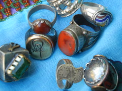 new and old tribal rings