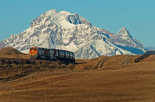 BNSF 7541, Browning MT