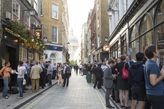 AFS-130220 (Alex Segre) Tags: street city uk england people streets building london english architecture buildings outside outdoors office workers pub europe european exterior britain outdoor capital cities scene busy british pubs adults scenes crowded in a alexsegre