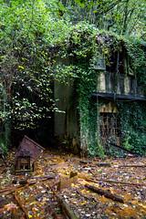 Edifici esterni (Le Strade del Tadde) Tags: industria montagna barite ruggine miniere alpiapuane industriale archeologia abbandono sotterraneo estrazione ematite