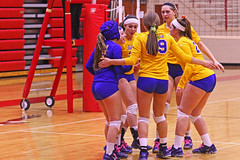 IMG_7205 (SJH Foto) Tags: school girls game private high team catholic age single volleyball vs states cheer bishop huddle marian semifinals piaa a guilfoyle
