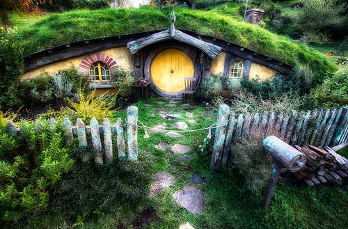 Hobbit House from Lord of the Rings by M by Michael Matti, on Flickr
