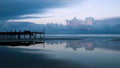 Promising Day (Dani℮l) Tags: ocean morning blue reflection beach water clouds strand waddenzee landscape wadden daniel noordzee hour groningen friesland ochtend landschap eiland badstrand bosma wolkenpartij