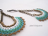 PP042. (♥ - ISA - ♥ plexi10_bijouterie) Tags: handmade aros earrings boucles pendientes bisuteria abalorios hechoamano delicas