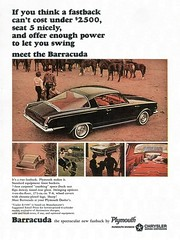 1965 Plymouth Barracuda (Rickster G) Tags: road hardtop 1969 car ads 1974 1971 flyer 60s muscle plymouth literature 1966 transit 1967 shaker 70s 1970 1968 hemi mopar sales runner 1972 brochure cuda rapid formulas coupe barracuda 440 1973 rallye compact 1964 1965 dealer 340 426 fastback gtx 383 4406 hemicuda sixbarrel scatpack