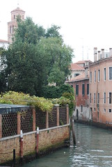 Foliage .... (Halliwell_Michael ## Thank you for your visits #) Tags: venice trees italy reflection history architecture buildings reflections perspective bridges canals 2013 nikond40x