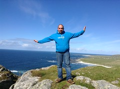 Top of Ben Hough, Isle of Tiree (age 9) - Ollie MacArthur