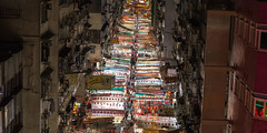 Temple Street Night Market (Wim Storme) Tags: street night hongkong market