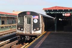 IMG_6776 (GojiMet86) Tags: new york city nyc subway mta avenue 2008 39 8904 bmt 39th 8905 8906 8907 8903 r160b