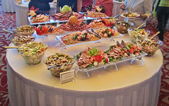 Light Lunch Anyone (nfin10) Tags: celebrity salad summit brunch buffet meats canonpowershot canonsx210is canonpowershotsx210 nfin10