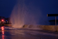 01 fvrier 2014 coeff 113 (27) (saintmalojmgphotos) Tags: mer bretagne sillon vagues saintmalo digue illeetvilaine 35400 merenhiver portmalo coefficient113
