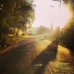 เช้านี้ตะวันทักทายฟ้าสายกว่าที่เคย ลาก่อน เหมันต์ คิมหันต์ทักทาย ยัวะซี้ ละไม่ว่า 55555555 very hot