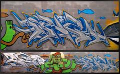 Sevilla 2013 (MR. BURNHUMANZ) Tags: graffiti y peces cream panes crew etc desayuno delicioso serial wildstyle clasic homenaje jesucristo cre crem 2013 douk bece abdt abasedetaker