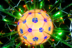 Star burst (Andy Coe) Tags: light abstract art painting circle lights colours sony mirrors kaleidoscope sphere alpha a77