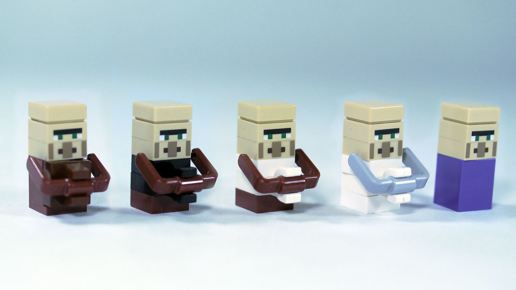 lego minecraft village instructions