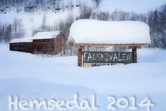 Hemsedal 2014 (outdoorstudio) Tags: winter snow norway landscape norge vinter skiing skandinavien scandinavia sne hemsedal landskab 2014 tuv pski fausko uge8 rubyrejser fauskoskysstasjon