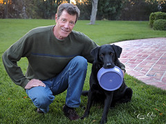 A man and his dog (classymis) Tags: dog guinness blacklab russ parvin classymis