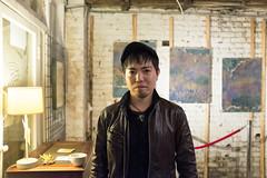 The artist (flamed) Tags: portrait london japanese artist camden artistathisexhibition