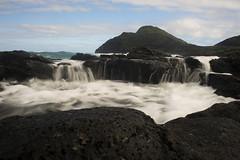 Makapu'u View (Stuart MacNeil) Tags: ocean mountain wet water landscape hawaii waterfall waves hill