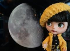 Blythe a Day 12 April 2014 - The Moon