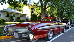 1961 Oldsmobile Starfire (Chad Horwedel) Tags: classic car illinois convertible starfire morris olds oldsmobile oldsmobilestarfire 1961oldsmobilestarfire