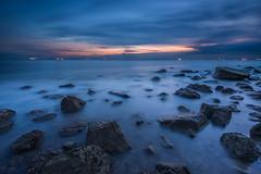 twilight (Ateens Chen) Tags: longexposure sunset sea cloud landscape nikon ateens eveningglow d810 afsnikkor1424mmf28ged